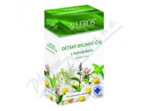 LEROS Dětský bylinný čaj s heřmánkem 20x1.5g n.s.