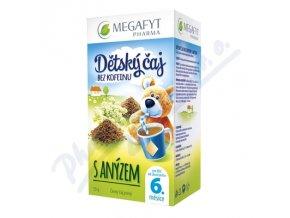 Megafyt Dětský černý čaj s anýzem 20x1.75g přebal
