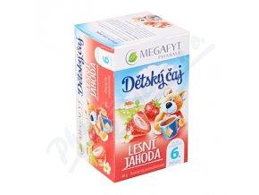Megafyt Dětský ovocný čaj s př.lesní jah.20x2g n.s