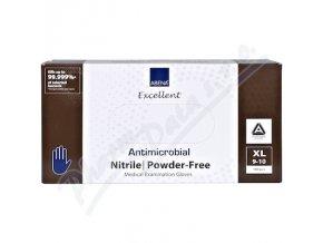 ABENA Rukavice ANTIMIKROBIÁLNÍ XL (9-10) nepudr. modro-fialové 200ks