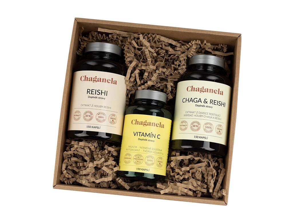 CH10133 Balicek 3 reishi caga s reishi vitamin c