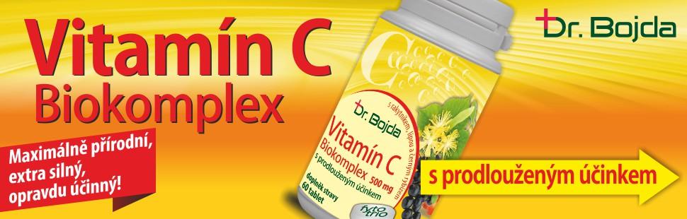 Biokomplex Vitamín C | Dr. Bojda | medicinka.cz | nekompromisní přístup ke kvalitě