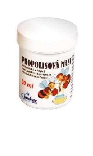 Propolisová mast Dr. Bojda | antiseptická | antimykotická | hojivá | s peruánským balzámem a medvědicí lékařskou | medicinka.cz