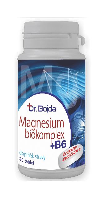 MAGNESIUM Biokomplex od Dr. Bojdy | obsahuje 4 formy vysoce vstřebatelného hořčíku.