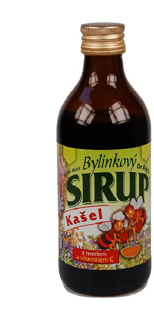 Sirupy od Dr. Bojdy|pro děti i dospělé|bez konzervantů|med a bylinky|