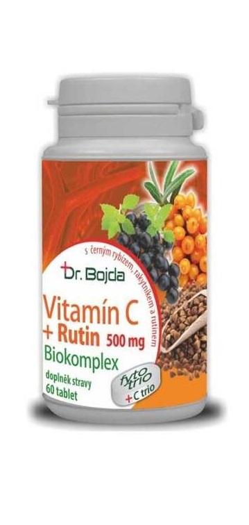 Vitamín C rutinem | Dr.Bojda | pro straší osoby | podporuje vstřebávání železa | medicinka.cz