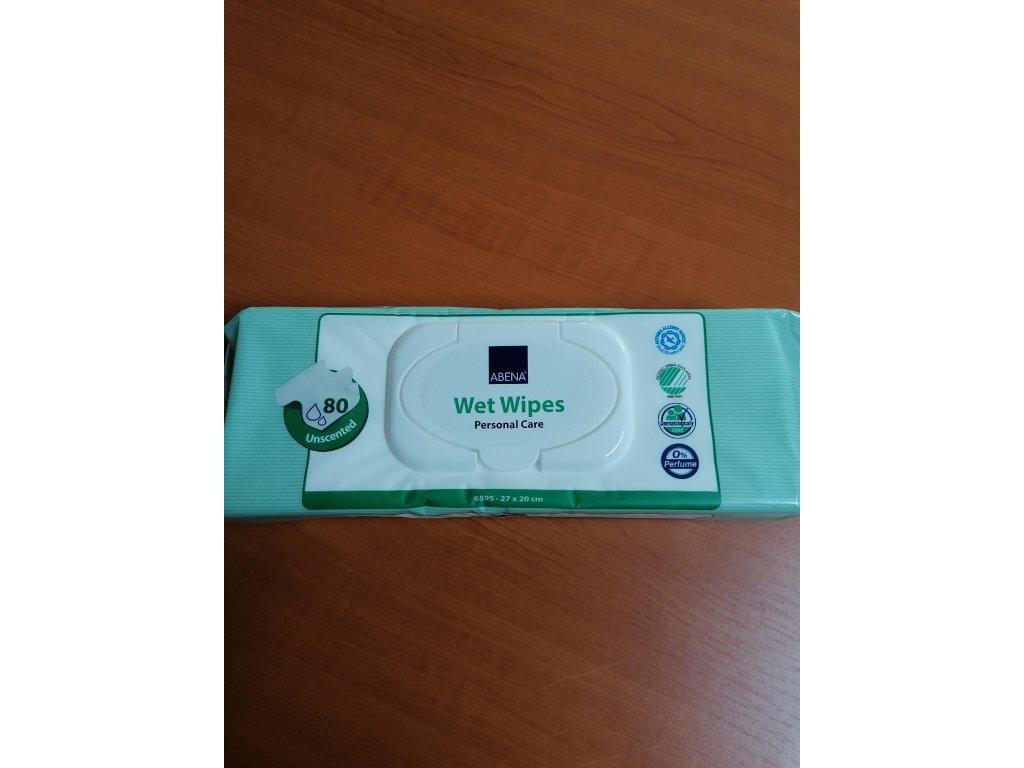 ABENA Skincare vlhké čistící ubrousky / 80 ks/