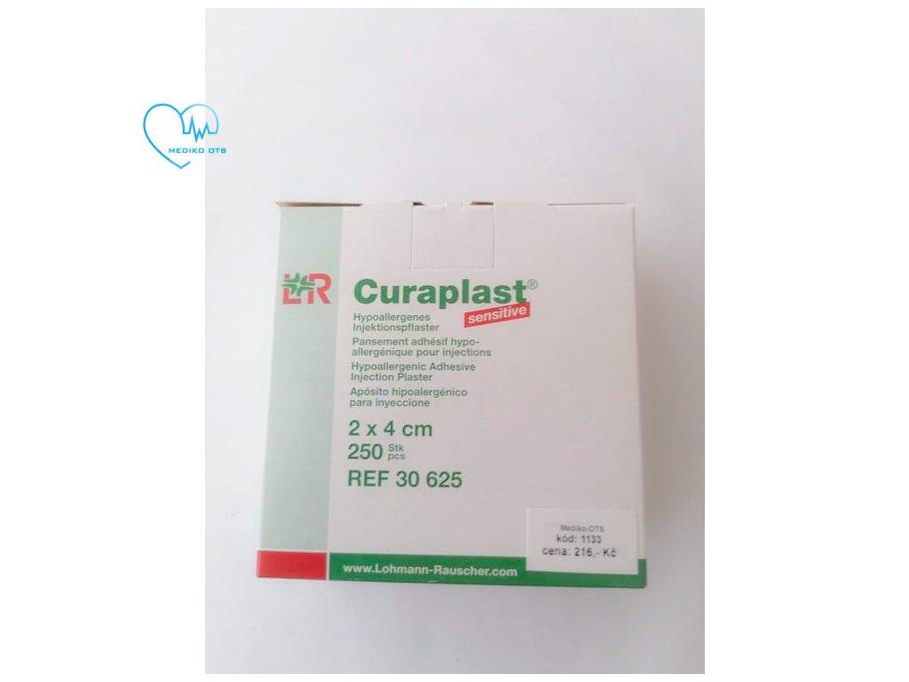 Curaplast sensitive 4x5cm 250ks