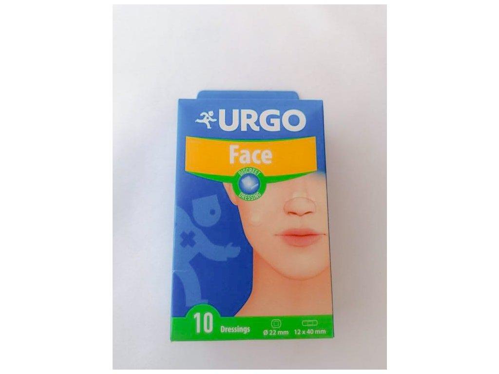 Urgo Face náplasti na obličej 10 ks