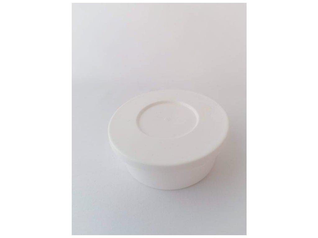 Kelímek plastový s víčkem 80 ml