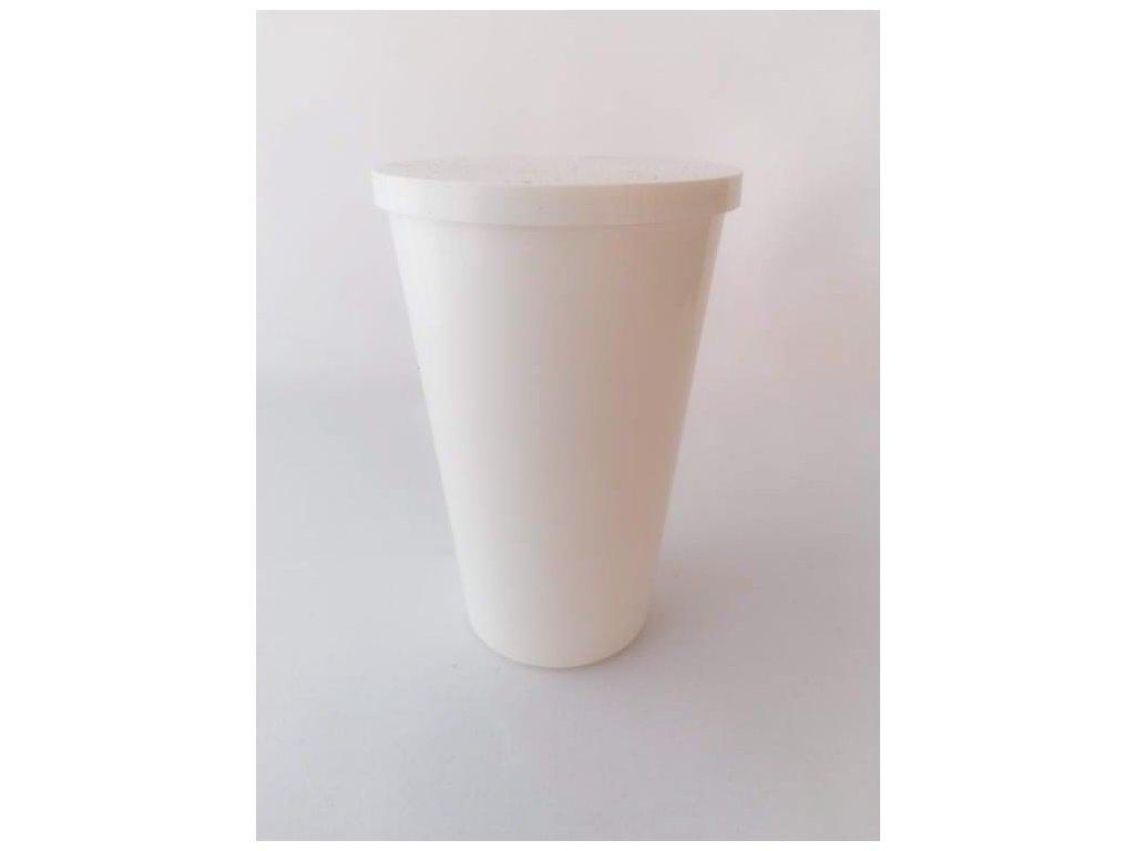 Kelímek plastový s víčkem 250 ml
