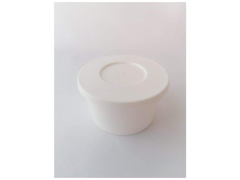 Kelímek s víčkem plastový 120 ml