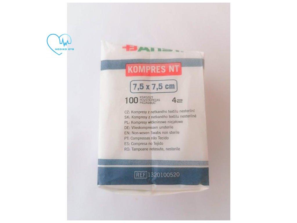 Kompres NT 7,5x7,5cm 100ks (2)