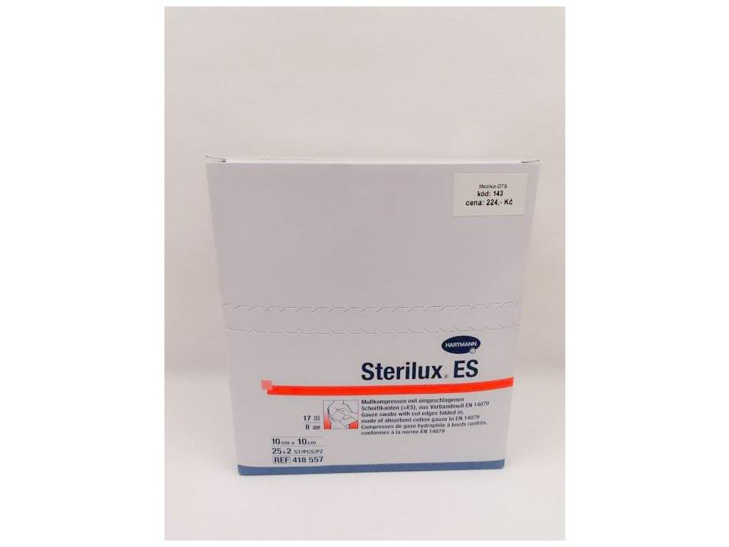 Sterilux sterilní 10x10cm 25x2ks