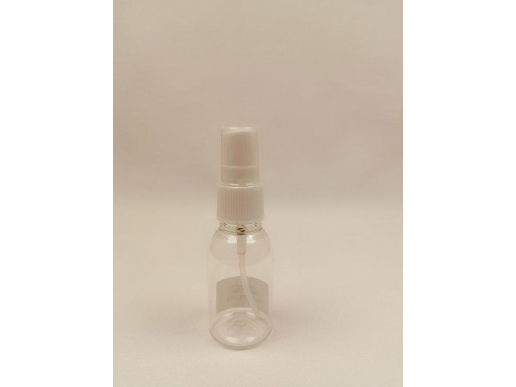 Plastová lahvička s rozprašovačem 25 ml