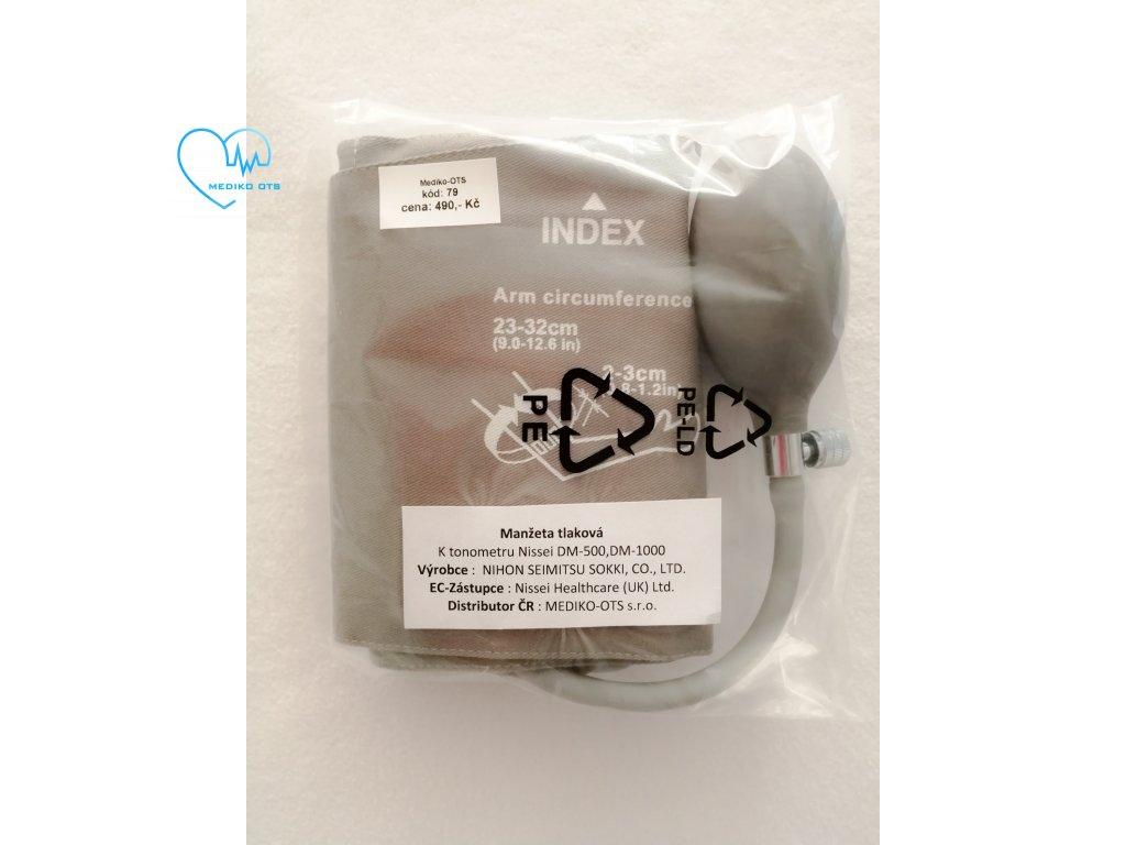 Manžeta standardní k tlakoměru Nissei DM 500,DM 1000