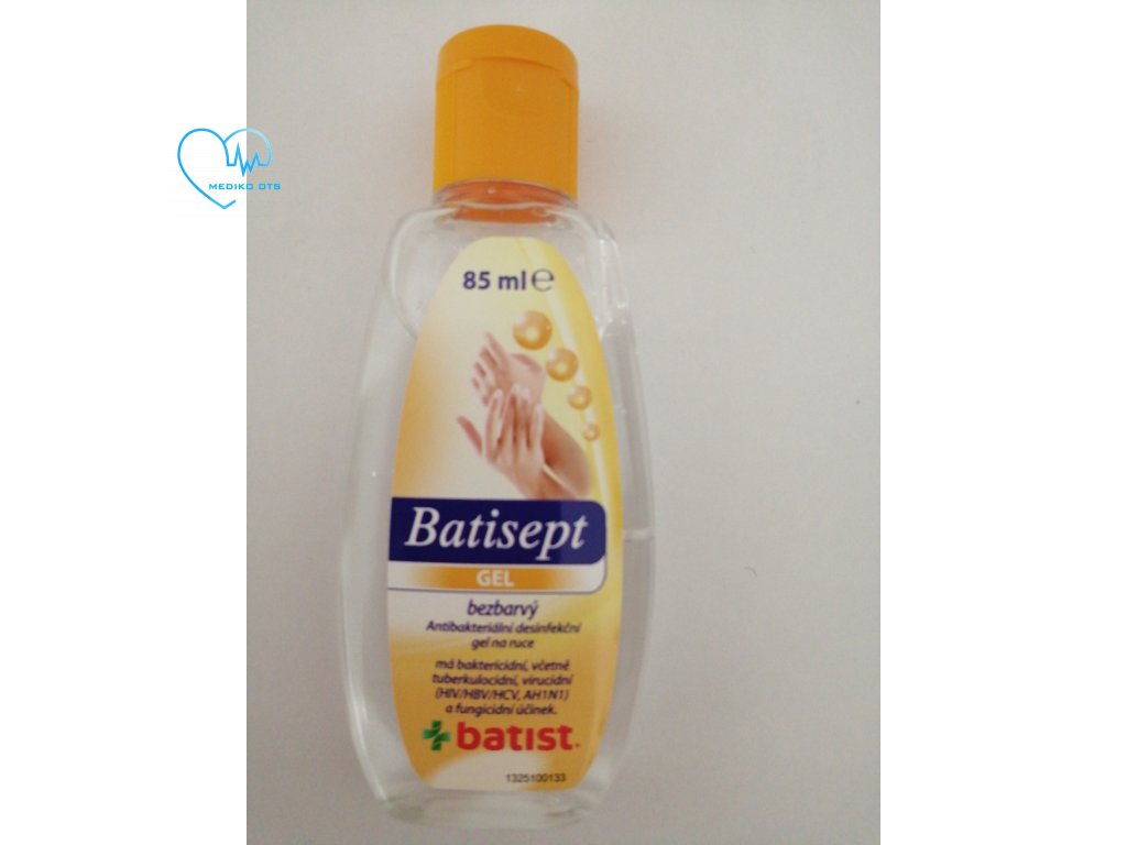 Batisept gel 85 ml bezbarvý