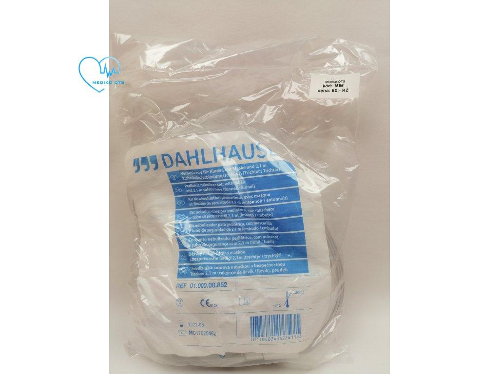 Nebulizátor 6 ml set pro děti vč. přívodní hadice 2,1 m