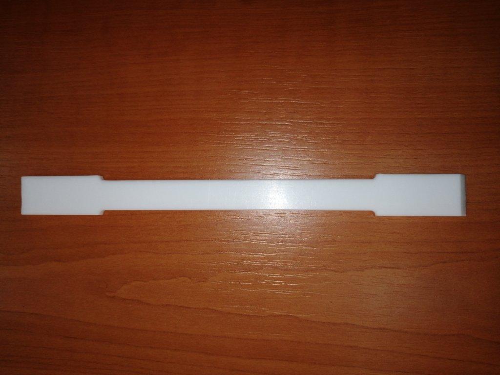 Špachtle laboratorní oboustranná PTFE 180 mm