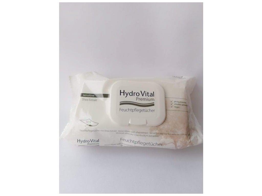 HydroVital Premium vlhčené ubrousky