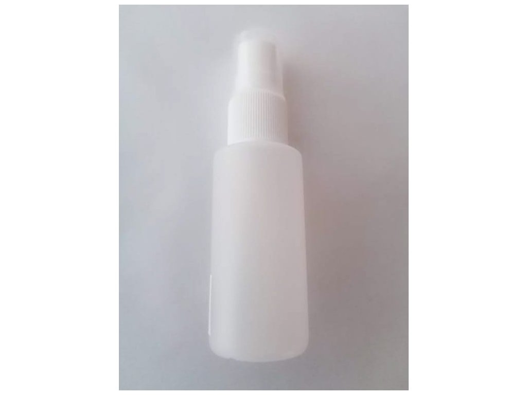 Plastová lahvička s rozprašovačem 30 ml
