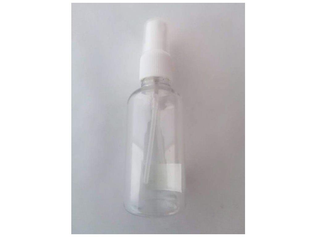 Plastová lahvička čirá 50 ml