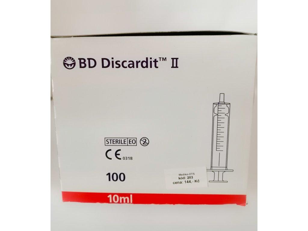 Stříkačka BD 10 ml