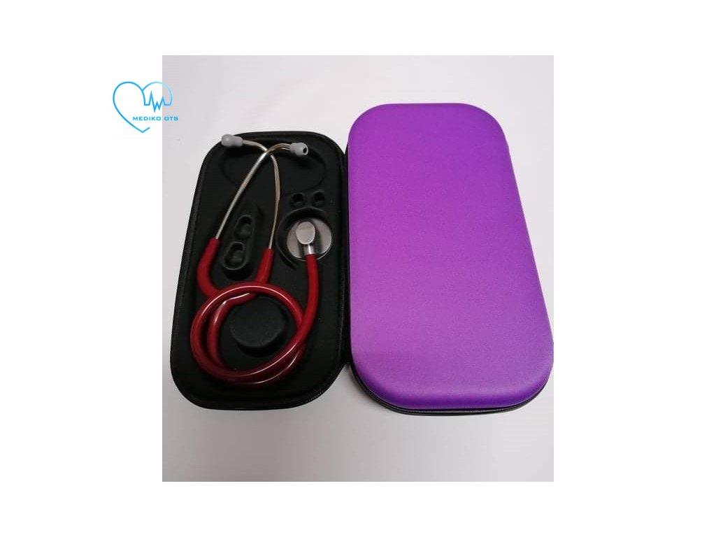 Pouzdro pro stetoskop Littmann fialový MINIBOX
