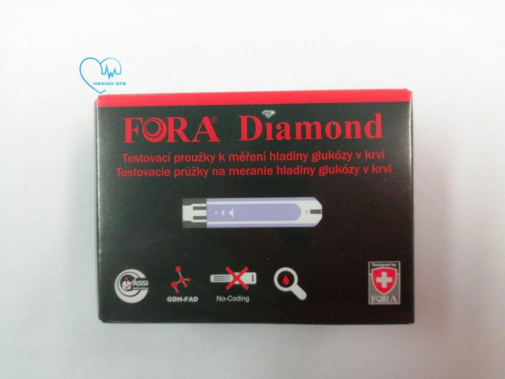 Testovací proužky ke glukometru Diamond Prima, Mini