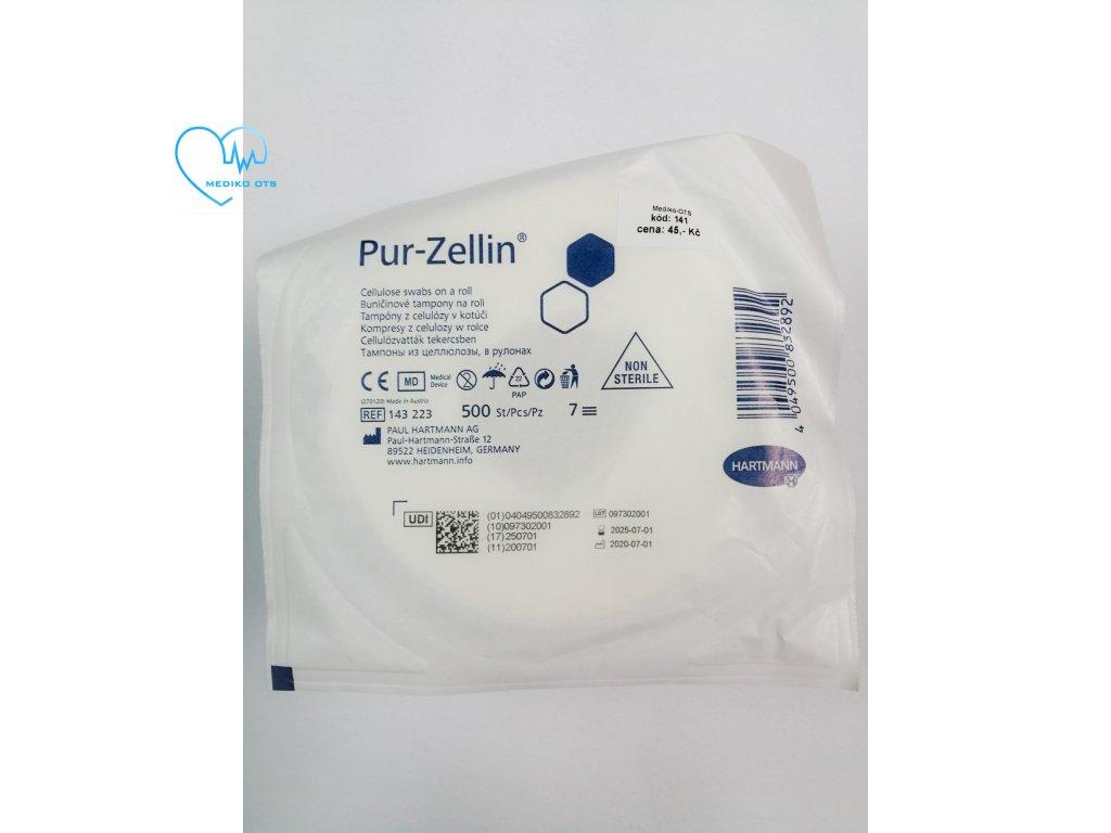 Vata buničitá dělená PUR ZELLIN 4 x 5 cm 2x250 ks