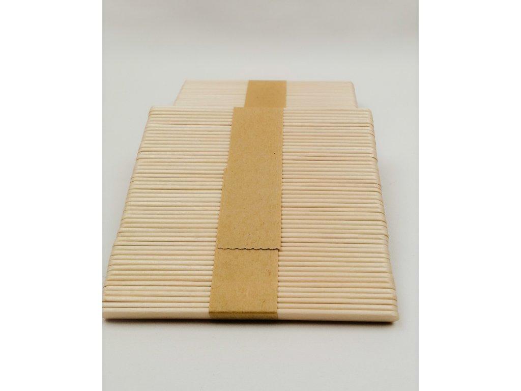 Dřevěná špachtle - dřívko na depilační vosk /50 ks/