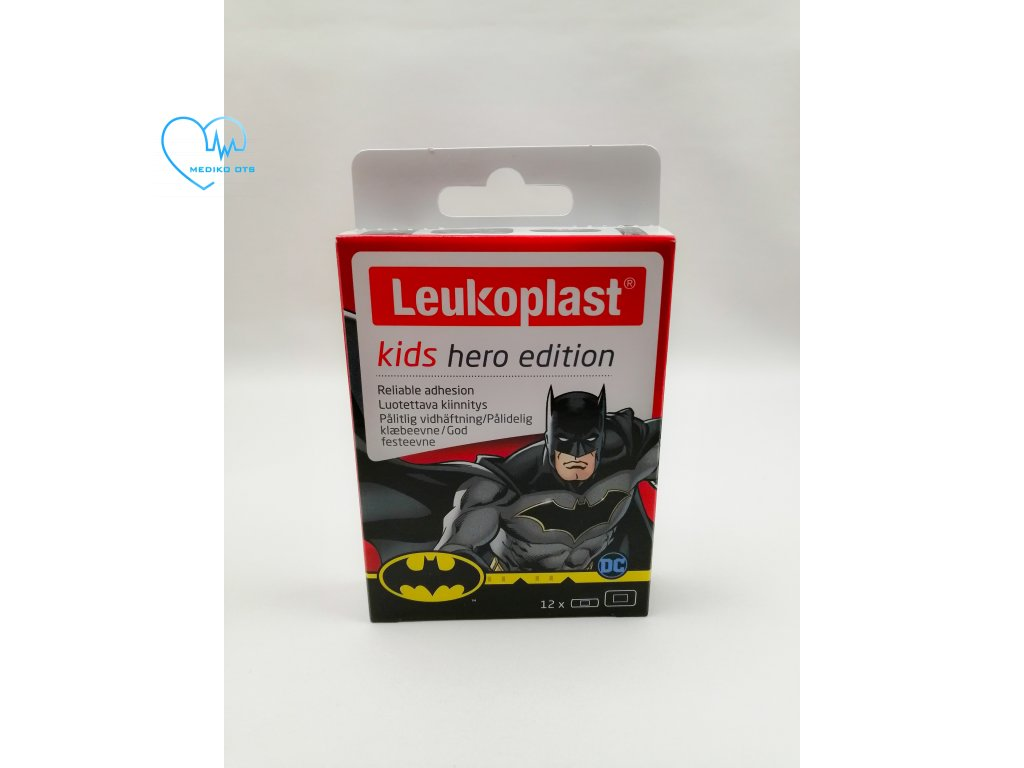 Leukoplast KIDS Hero 12 ks