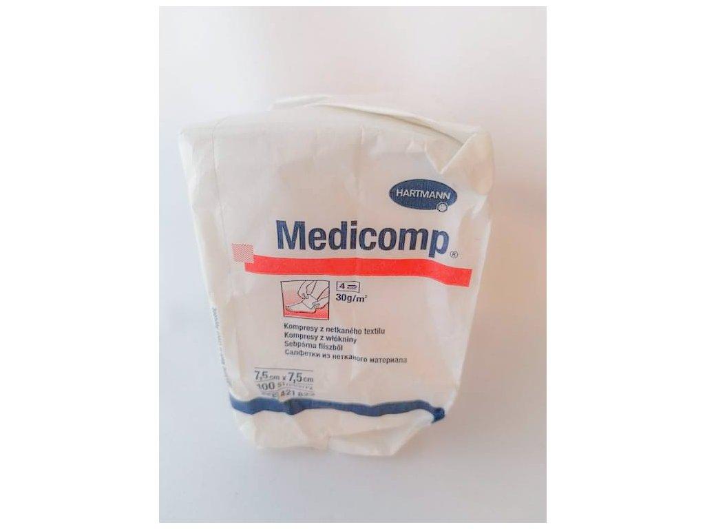 Kompres NT Medicomp 7,5x7,5cm 100ks