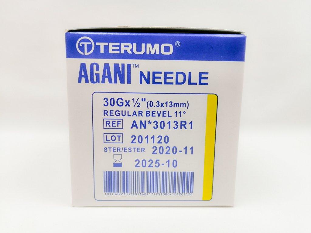 Jehla inj. Terumo Agani 30G 0,3x13 mm 100ks