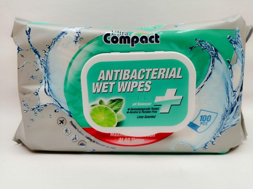 ARSAN antibakteriální vlhčené ubrousky 100 ks