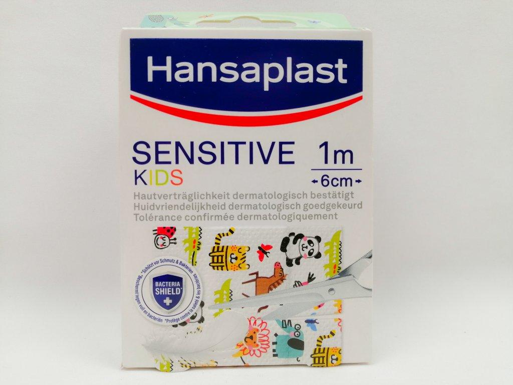 Hansaplast náplast Sensitive KIDS 6cm x 1m