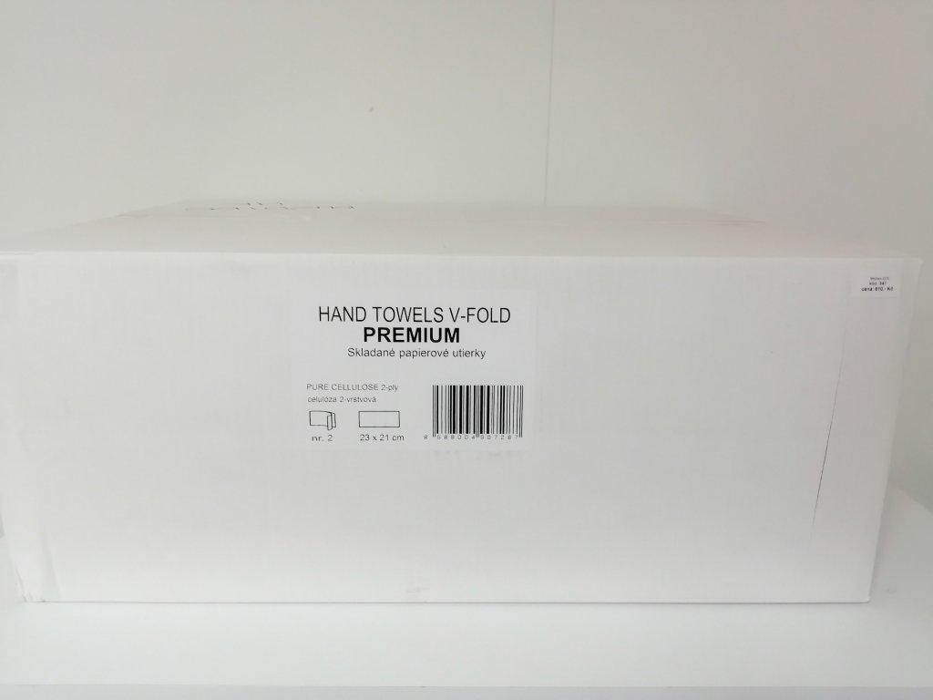 Papírové ručníky Z Z 2 vrstvé bílé 100% celuloza 3000ks