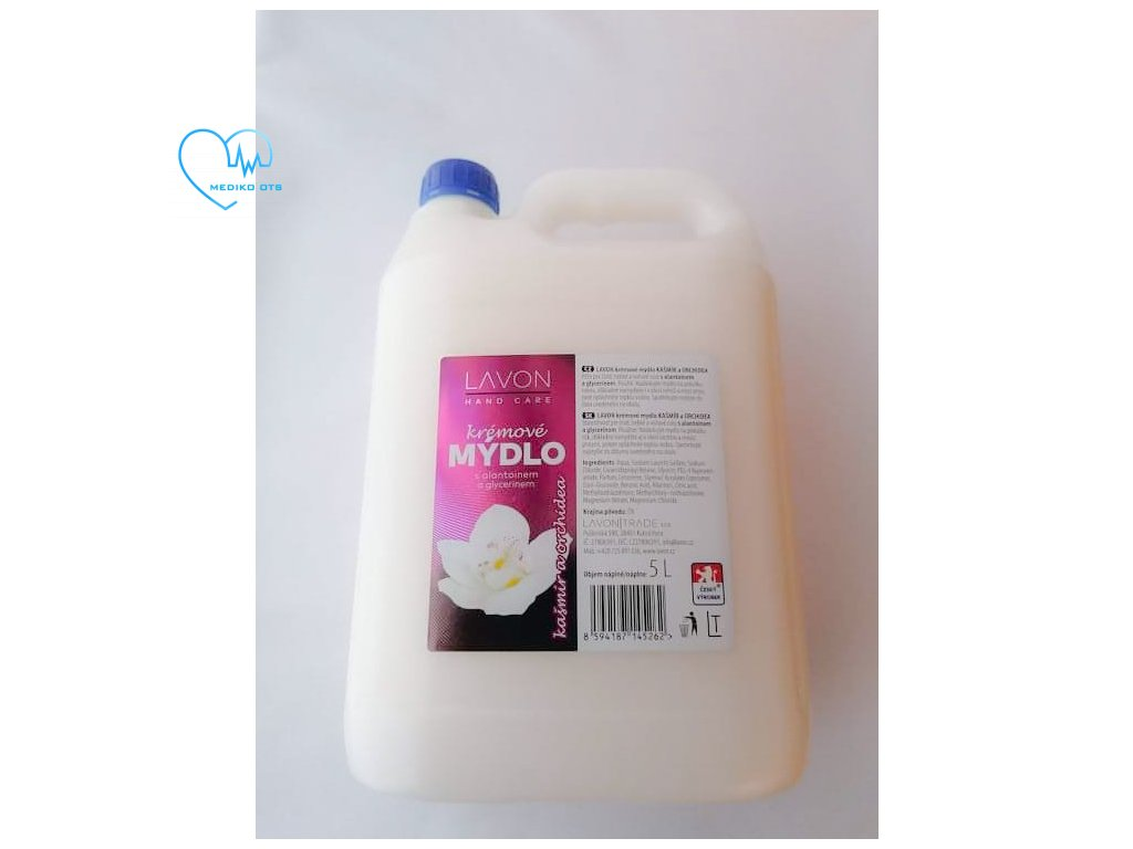 Lavon krémové mýdlo 5l