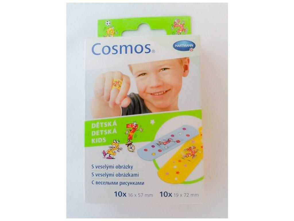Náplast Cosmos dětská dělená 20 ks