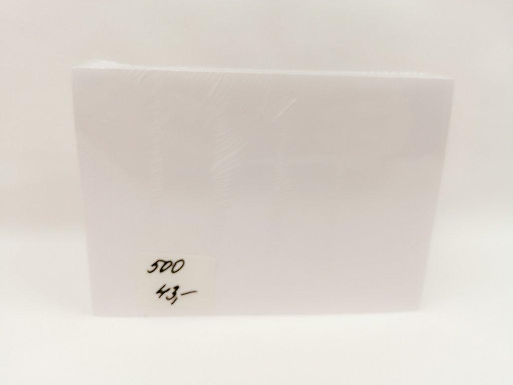 Papír A6 volné listy na e recept