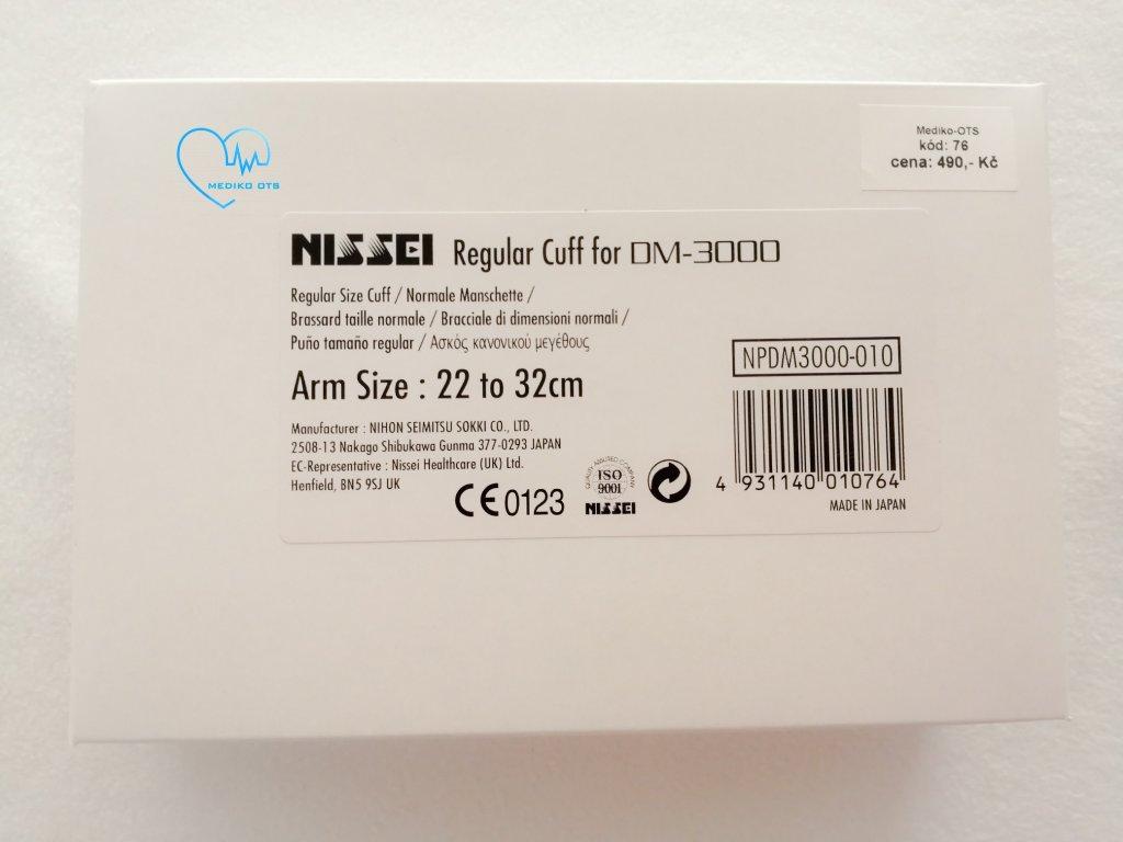 Manžeta standardní k tlakoměru Nissei DM 3000