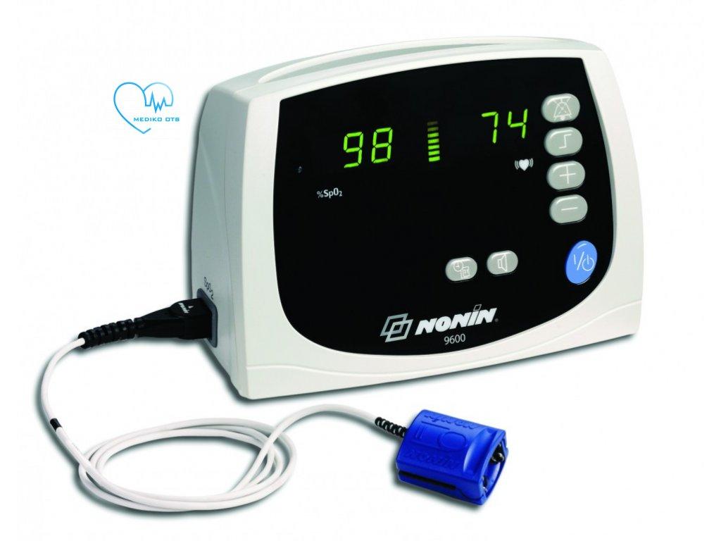 Oxymetr 9600 Avant s alarmy včetně pevného senzoru