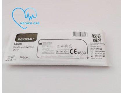 ENFit stříkačka pro enterální výživu 60 ml