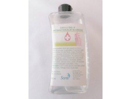 Čistící gel s antibakteriální složkou 500 ml