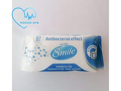 Smile antibakteriální ubrousky