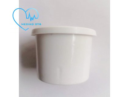 Kelímek s víčkem bílý 30 ml