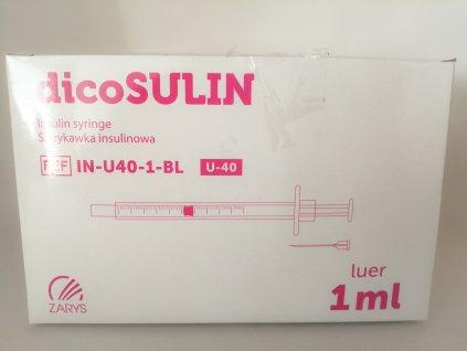 Stříkačka inzulinová Omnican 50