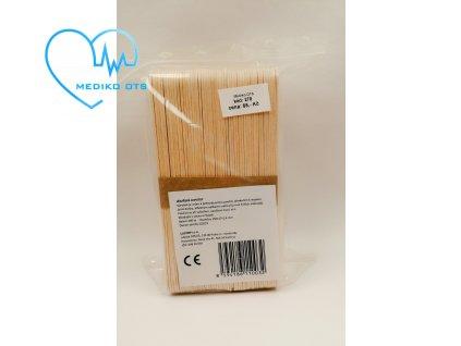 Dřevěné lopatky 200 ks