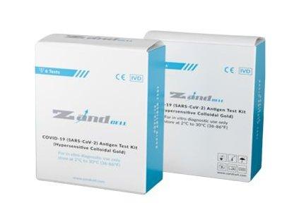 ZandCell Covid 19 antigenní slinový test 6 ks