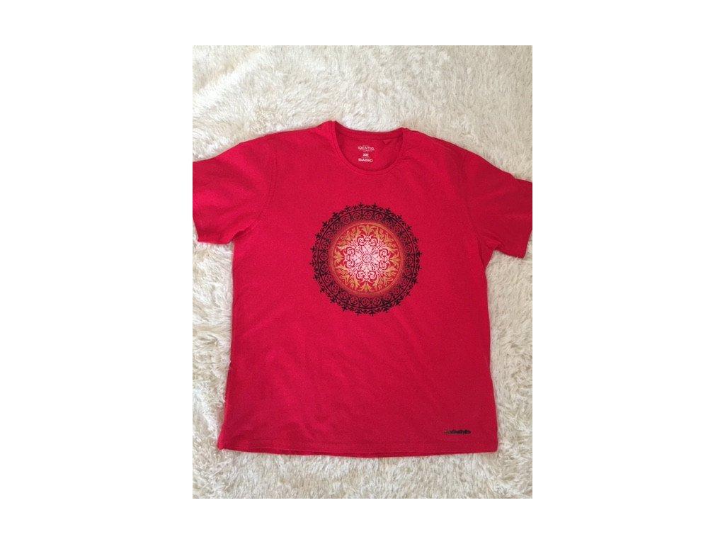 Pánské tričko s mandalou